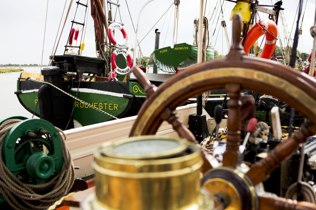Thames Barges – Hythe Quay